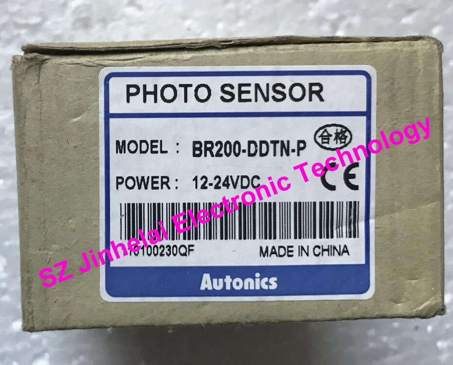 100% New and original BR200-DDTN-P  AUTONICS  PHOTOELECTRIC SWITCH    12-24VDC e3x da21 s photoelectric switch