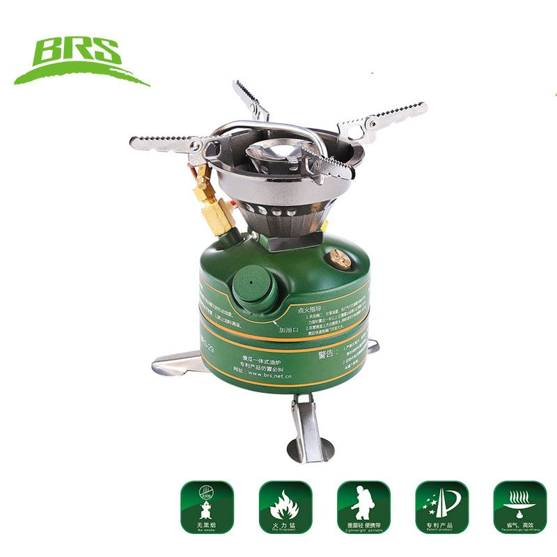 BRS 29B Non Preheat Gasoline Stove 450ml Oil Burners Outdoor Cooking System 567g Portable Camping Stove