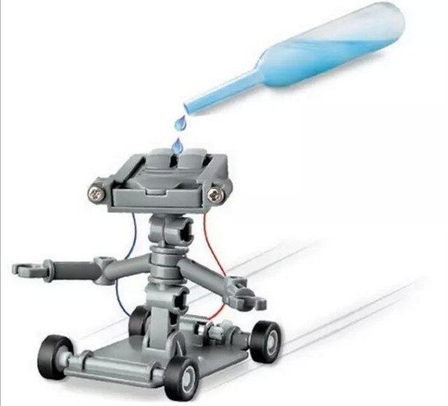 Новый рассола powered робот наука разведки игрушки DIY образования науки игрушки