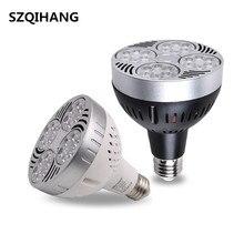 E27 PAR30 LED Lamp Bulb 24W 35W 40W Ultra Bright Light Lampara Built-in Fan Cooling For Track Lighting Downlight Spotlight
