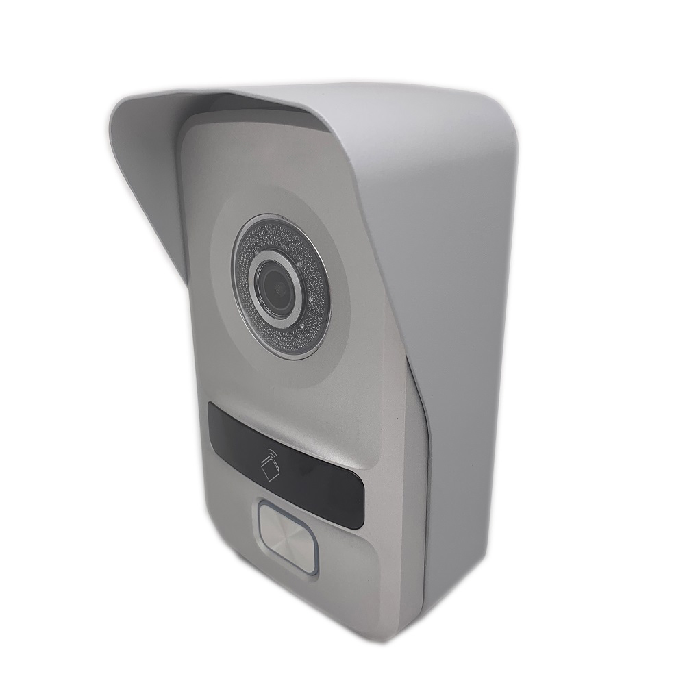 HIK Multi-Language Waterproof IP Doorbell  DS-KV8102-IP, IP Intercom, RFID Card,IP Wired Intercom