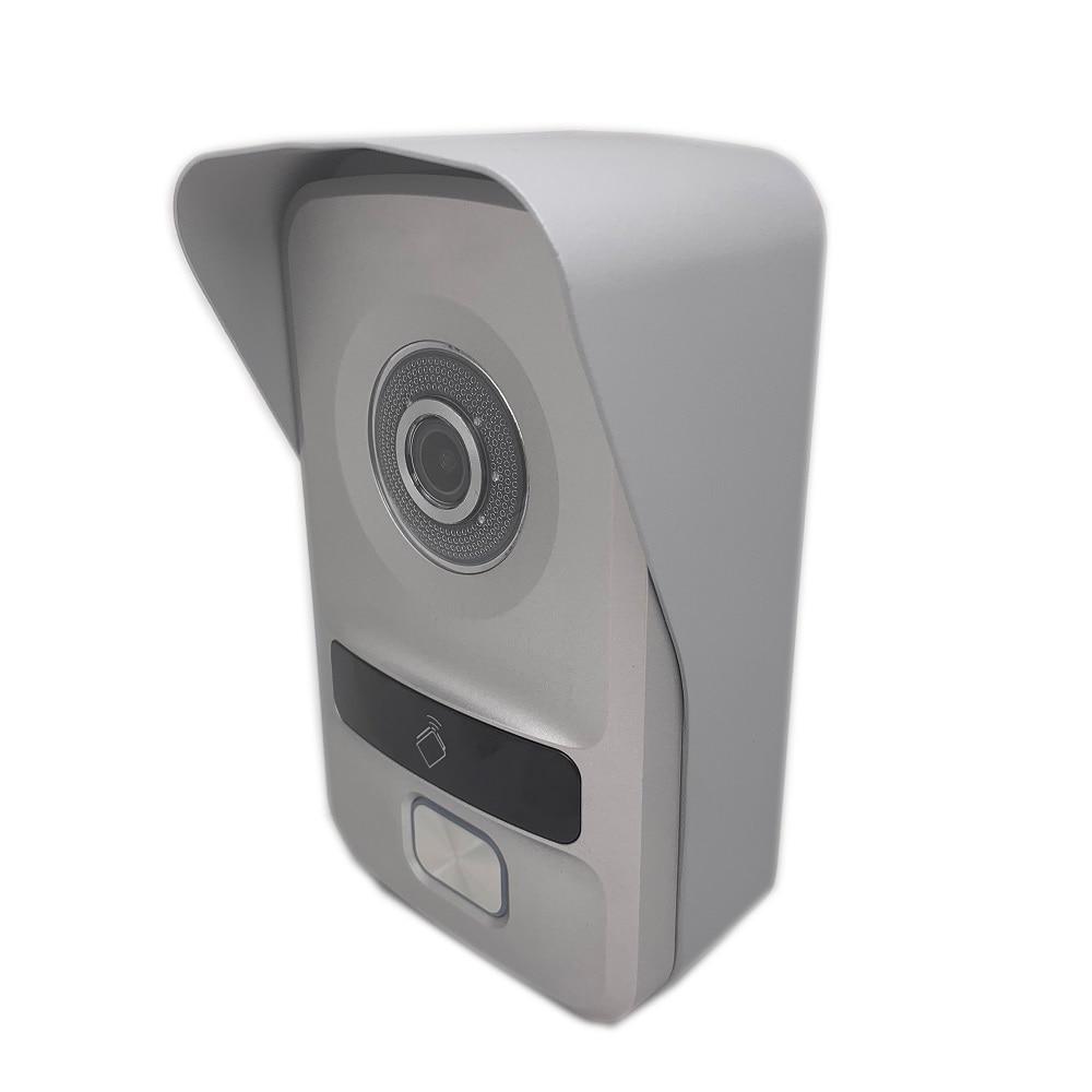 Hik HD multi Sprache DS KV8102 IP, IP intercom, IP türklingel wasserdicht, RFID karte, IP wired intercom