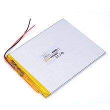 3088128 3.7 V lithium Tablet polymer battery 4000 mah DIY mobile emergency power charging treasure battery Power bank PAD DVD