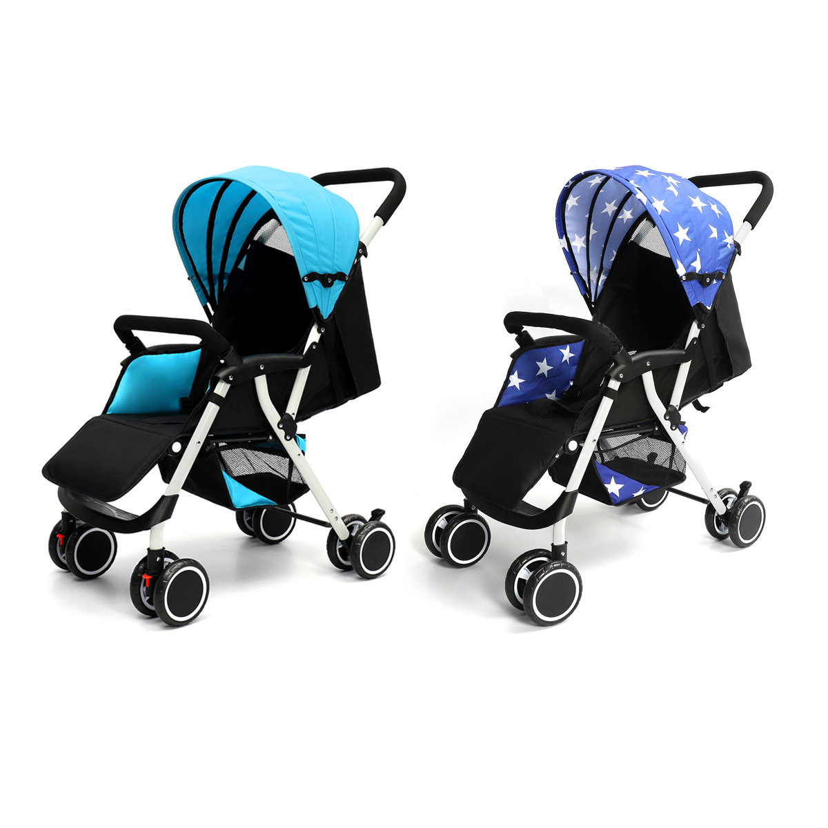 все цены на Baby Strollers Ultra Lightweight Folding Can Sit Can Lie High Landscape Umbrella Baby Trolley Summer and Winter