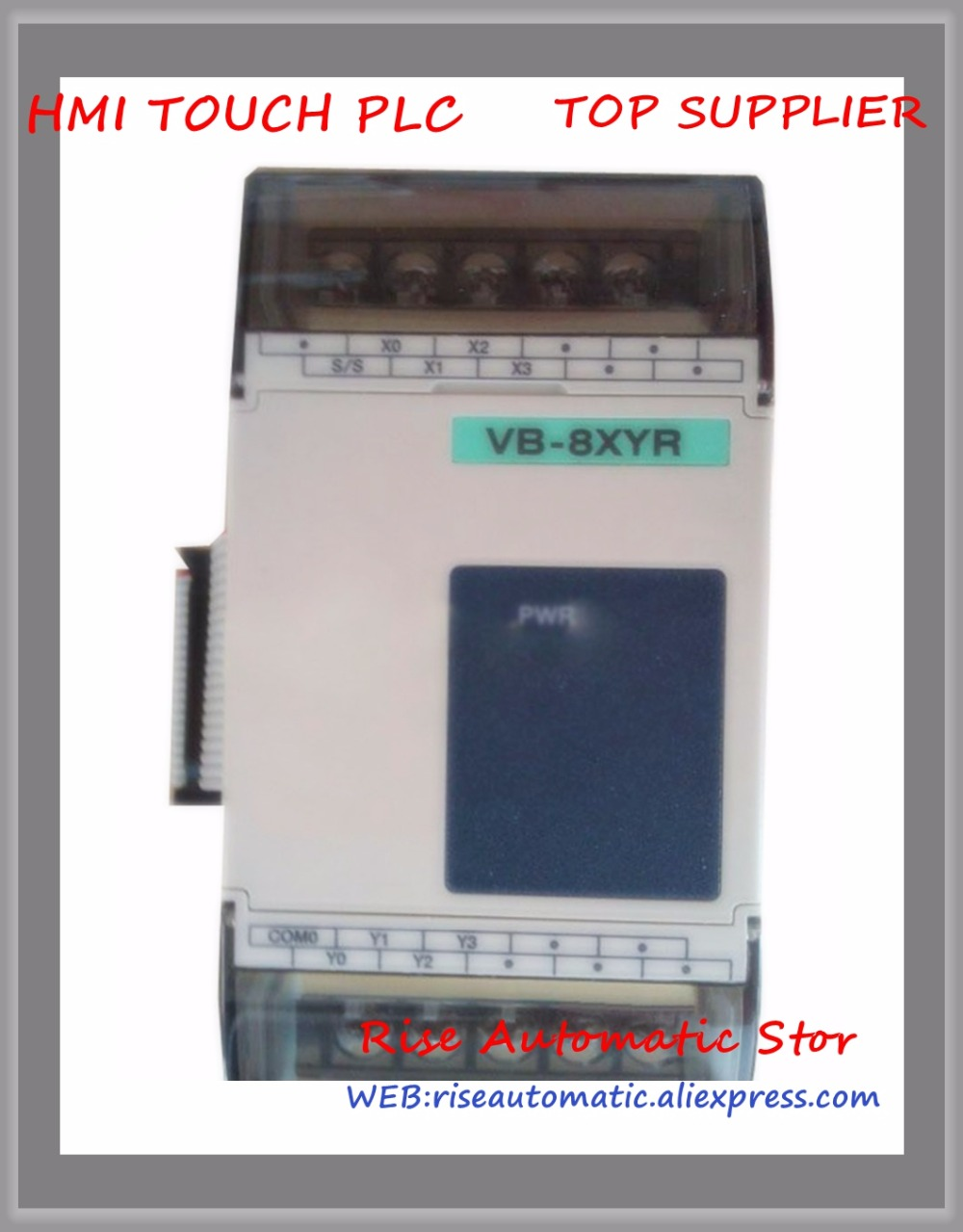 Brand New Original VB-8XYR PLC 24VDC 4 point DC24V input 4 point output Expansion Module new original vb 16yr plc 24vdc 16 point input expansion module