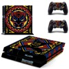 PS4 Full Skin Sticker Faceplates of State of Black Panther for Sony playstation 4 Console and Controller