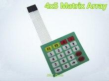 4×5 Matrix Array 20 Key Membrane Switch Keypad Keyboard 4*5 Keys for Arduino NEW