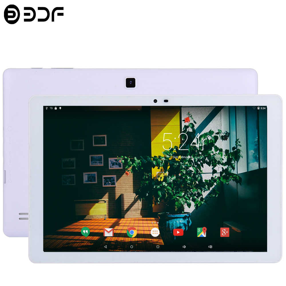 Tableta de 10,1 pulgadas 1 GB RAM 32 GB ROM 1280*800 batería de 6000 Mah 2MP + 5MP cámaras Tablet PC Android 5,0 Quad Core HDMI Bluetooth WIFI