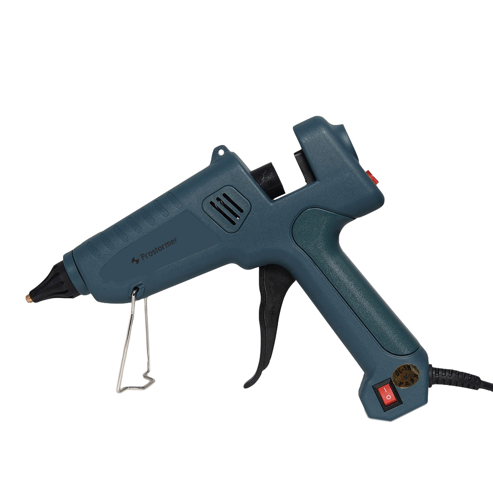 Image 3 - PROSTOEMER 25w 60w 100w Hot Melt Glue Gun with Glue Sticks 7mm 11mm  Industrial Mini Guns Thermo Gluegun Heat Temperature Tool-in Glue Guns from Tools on