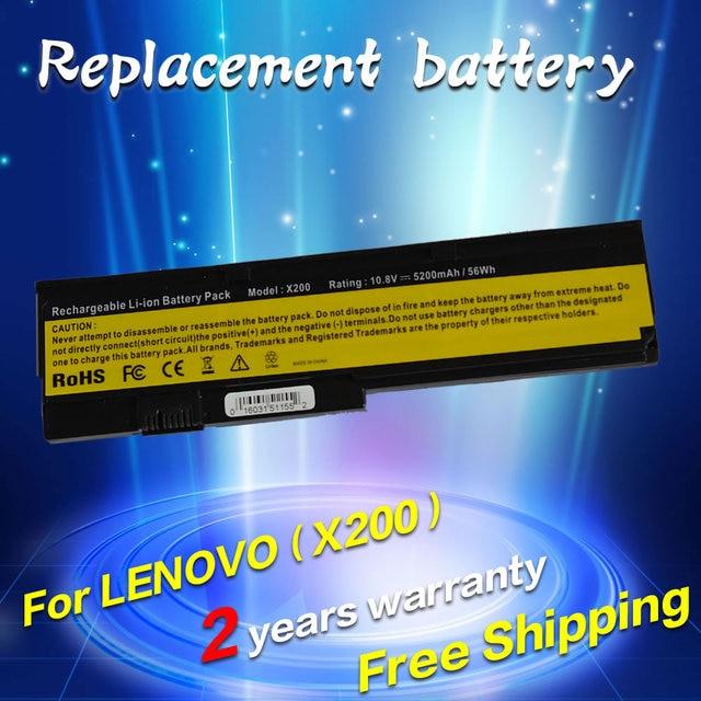 JIGU Battery For LENOVO ThinkPad X200 X200S X201 X201S 42T4834 42T4835 43R9254 ASM 42T4537 FRU 42T4536 42T4538