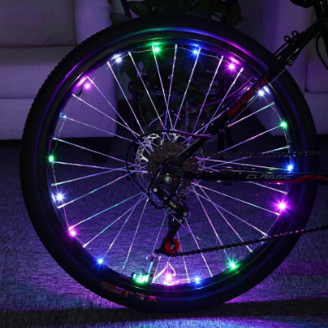 Unisex Fashion LED Light Flashing Sport Light Strip Reflector Bicycle Hot Cuff