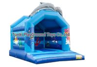 Inflatable Bouncer Combo Slide Obstacle Course Jumping House Kids Trampoline Toys