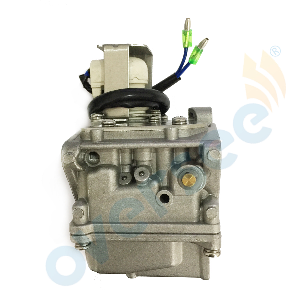 US $79 2 10% OFF|65W 14901 Outboard Carburetor Assy For Yamaha Outboard  Engine 4 Stroke 20HP 25HP 65W 14901 10 F20A F25A-in Boat Engine from