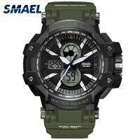 Sport Watches 50M Waterproof SMAEL Fashion Men Watch S Shock Male Clock Relogios Masculino Watch Man