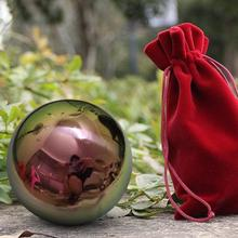 Colorful Outdoor Hunting Slings Pinball Brightness Clear Stainless Steel Balls Mirror Metal Shooting Decorative Ball