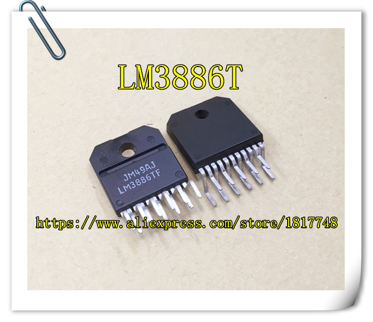 Free Shipping  LM3886TF LM3886T LM3886 ZIP IC Fever power amplifier chip IC  New original ic new original authentic free shipping 100% new products 1gc1 4210