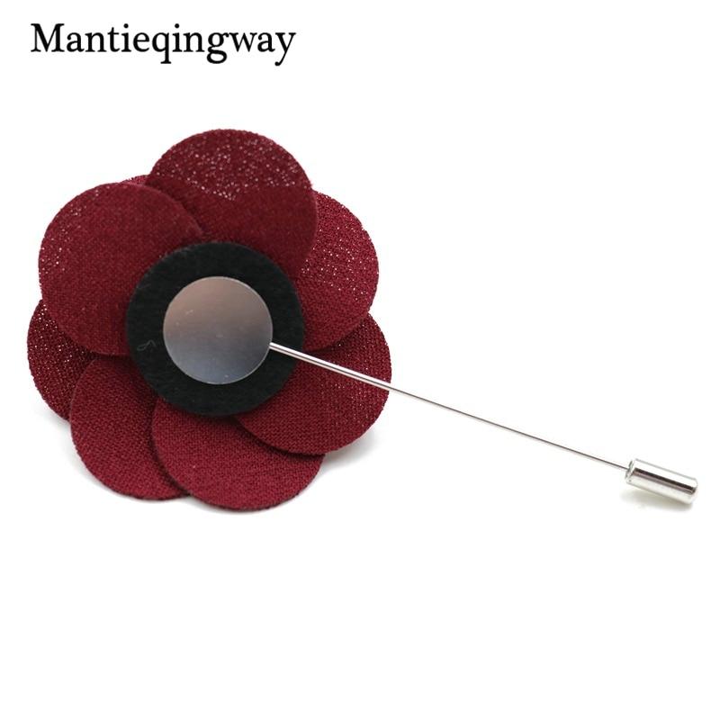 Mantieqingway 6 cm Vintage Floral algodón lazos para hombres boda ...