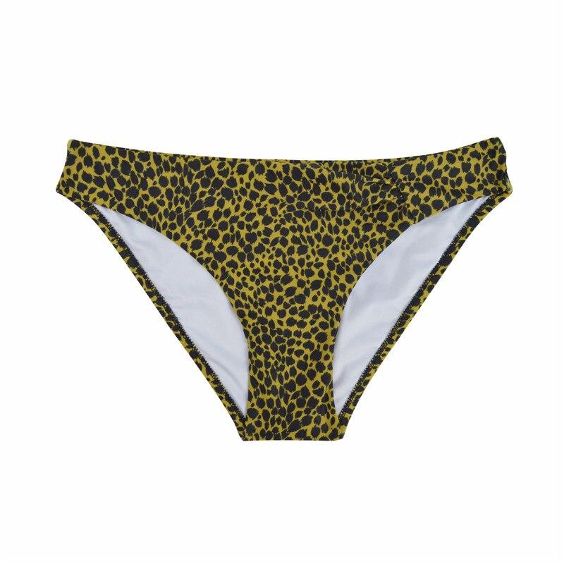Шорты для плавания с низкой талией, плавки, одежда для плавания, сексуальный женский купальник, Бразильское бикини, два предмета, Раздельный купальник, B601 - Цвет: B601I