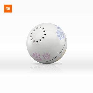 Image 5 - Умная игрушка компаньон Xiaomi Petoneer для домашних животных, встроенный кошачий шарик, необычная прокрутка, Забавный артефакт, Умная игрушка для питомцев
