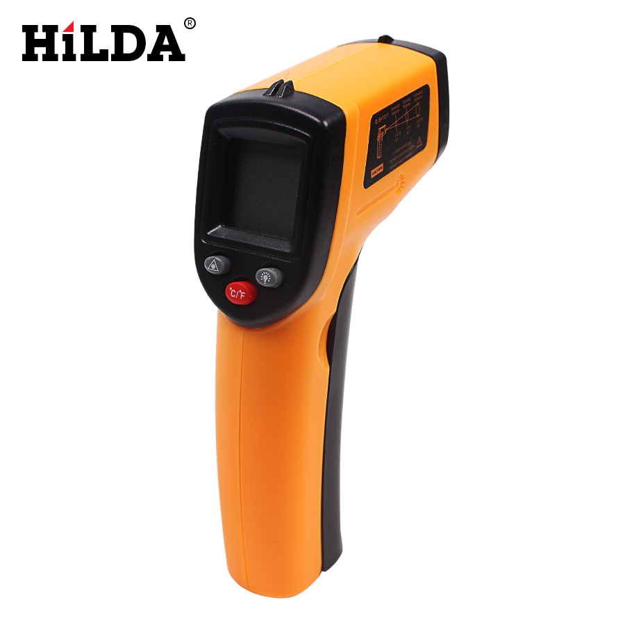 Digital Infrared Thermometer Themperature Pyrometer IR Laser Point Gun Non-Contact 380 degree GM320 tasi 8606 infrared thermometer 32 380 degrees infrared thermometer non contact thermometer industrial and household
