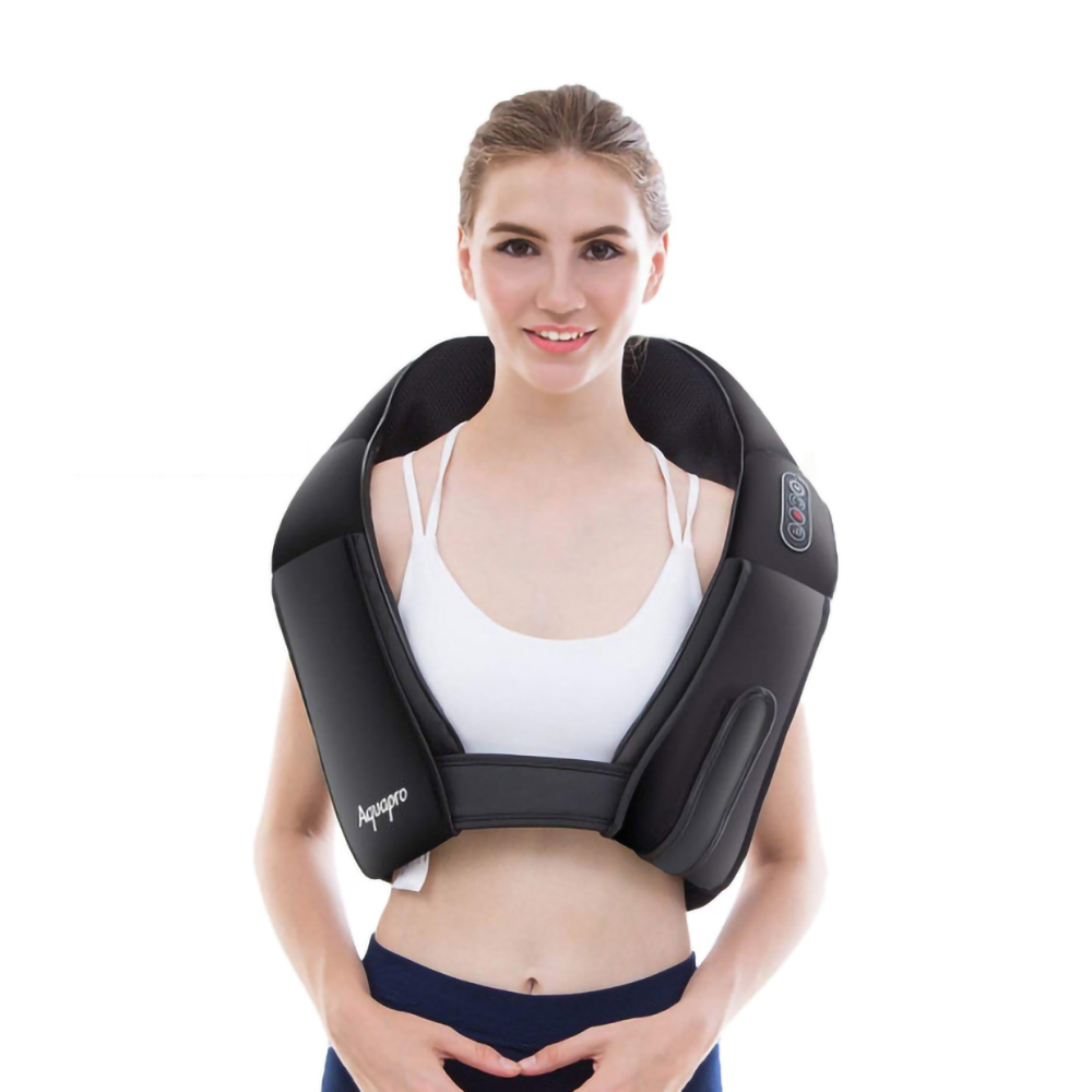 Real Heated Massager With Heat Deep Kneading Massage And Custom Belt Full Body Relieve Pain Back