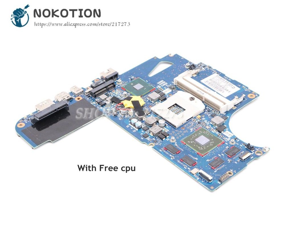 NOKOTION For HP Envy 14 14-1000 Laptop Motherboard 608364-001 6050A2316601-MB-A04 HD5650M 1GB HM55 DDR3 Free cpu da0zq1mb8f0 rev f mbpvl06001 mb pvl06 001 for acer aspire 4820t 4820tg motherboard hm55 ddr3 ati hd5650m page 7