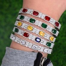 Godki luxo flor arábia saudita pulseira anel conjunto conjuntos de jóias para o casamento feminino noivado brincos para como mulheres 2020