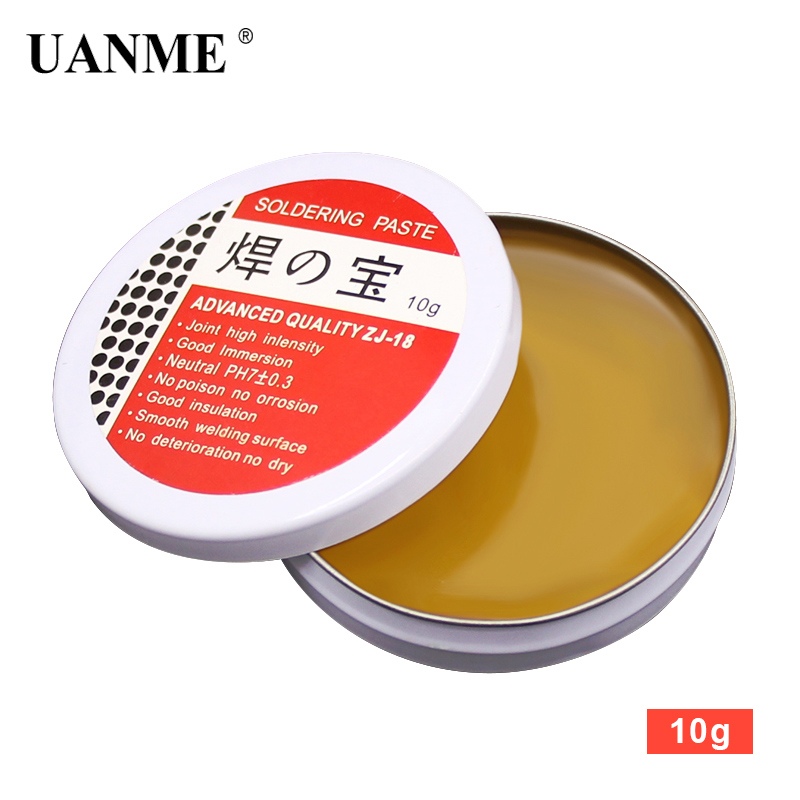 UANME Soldering Paste Mild Rosin Environmental Soldering Paste Flux PCB IC Parts Welding Soldering Gel Tool For Metalworking