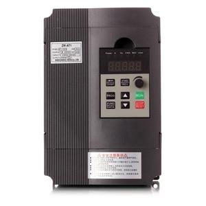 Image 1 - VFD 1.5KW/2.2KW/4KW CoolClassic convertitore di frequenza ZW AT1 3P 220V di Uscita con Po Di tassa di trasporto CNC velocità del motore mandrino wcj8