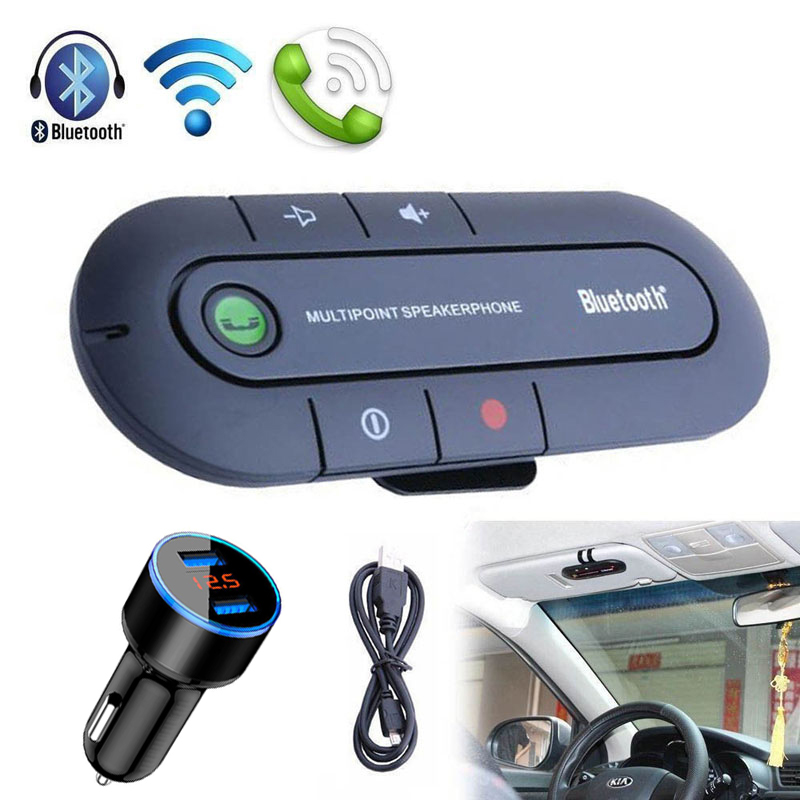 Car Bluetooth Music Audio Receiver With Dual <font><b>USB</b></font> Charger for Volkswagen VW Golf 4 <font><b>5</b></font> 6 7 MK7 t5 t4 Polo 6r Passat B5 B7 Beetle image