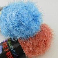 Wholesale 5 Pieces Lot 500 Grams Natural Fleece Yarn Mink Cashmere Yarn ThickYarn Polyester Yarn Weave