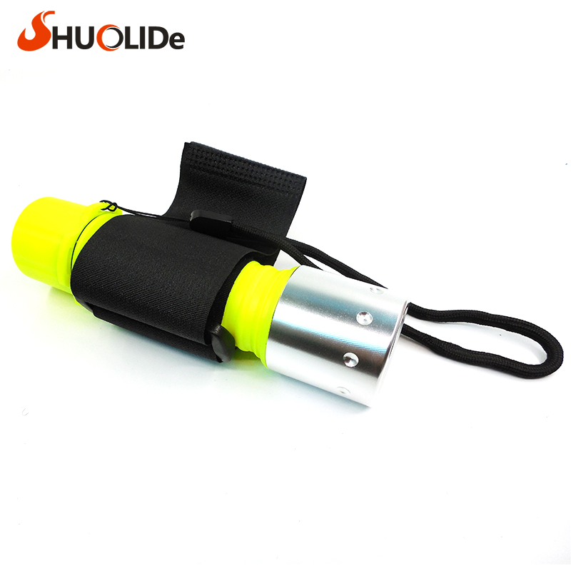 900LM CREE XML-T6 LED Waterproof underwater Dive Diving Flashlight 3 modes Torch light lamp for diving lantern by 18650 or 3A zk30 led cree xm l2 diving 5000lm flashlight dive torch military lamp waterproof underwater 120m torch for diving lantern