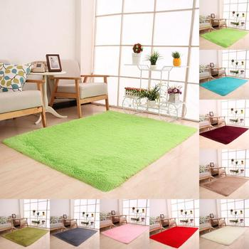 1 unid antideslizante suave alfombras Anti-Skid Shaggy alfombra de ...