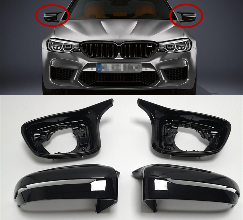 Accessories Full Set M5 F90 Look For BMW 3 5 6 7Series G20 G30 G31 G32 G11 G12 Wing Mirror Cover Shell ReplaceCar stylingAccessories Full Set M5 F90 Look For BMW 3 5 6 7Series G20 G30 G31 G32 G11 G12 Wing Mirror Cover Shell ReplaceCar styling