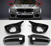 Accessories Full Set M5 F90 Look For BMW 3 5 6 7Series G20 G30 G31 G32 G11 G12 Wing Mirror Cover Shell ReplaceCar styling