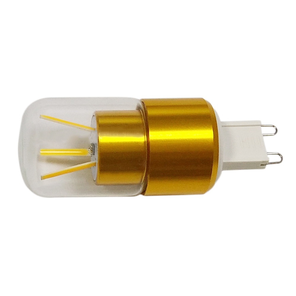 New Style LED Lights 3W Imitation Tungsten Wire Lights Warm/Cool Light New 1 Pcs 3W Car Bullet Head Bulb for Vehicle Lighting