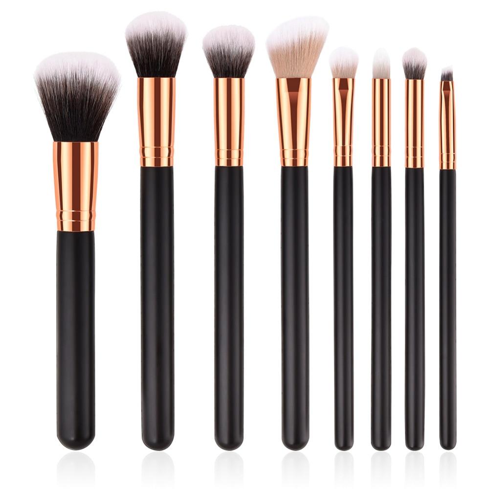 8 Pcs/set  Makeup Brushes Set 10 Pcs Powder Eyeshadow Contour Soft Eye Makeup Brush Professional Makeup Tools Kit Cosmetic professional eyeshadow brush makeup kit designer cosmetic eye makeup tools with luxury case synthetic