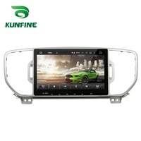 Octa Core 2GB RAM Android 6.0 Car DVD GPS Navigation Multimedia Player Deckless Car Stereo for Kia Sportage 2016 Radio Headunit