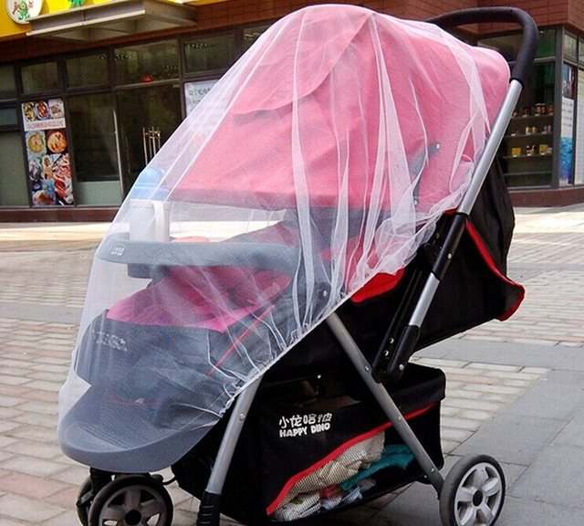 10pcs/lot  Baby Stroller Out To Prevent Being Bitten Baby Buggy Car General Insect Net Safe Mesh Buggy Crib Mosquito Net