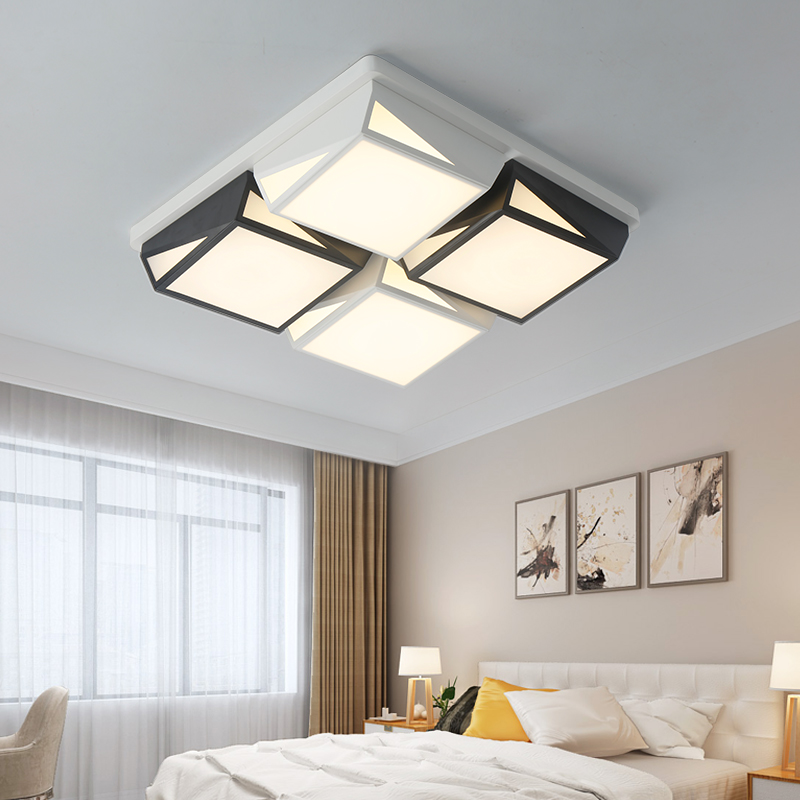 BWART New Acrylic Modern led ceiling lights for living room bedroom Plafon led home ceiling lamp home lighting light fixtures new modern led ceiling lights for living room bedroom plafon home lighting combination white and black home deco ceiling lamp