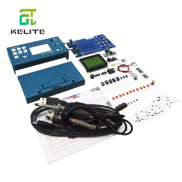 Цифровой мини осциллограф DSO068 20 МГц, DIY F версии, наборы, цифровой экран, электронное обучение, тренировочный костюм для производства