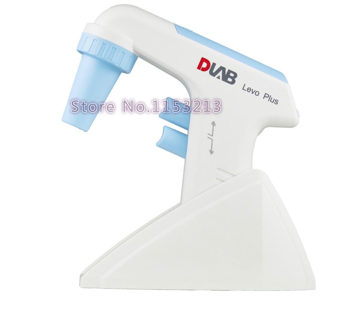 DLab Levo Plus pipeta relleno 0,1-100 ml Dragon lab gran capacidad electrónica pipeta bomba controlador de pipeta con CA adaptador