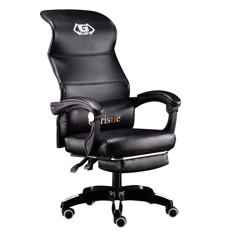 EU Computer Household Lift Swivel Ergonomic Boss Can Lie To Work Office Chair Gaming Game cadeira gamer RU new computer household lift swivel ergonomic boss can lie to work seat covers office chairs furniture chair gaming game