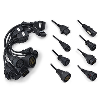 2014 Top Rated Best Quality Diagnostic TCS CDP PRO Cables For Truck With Full Set
