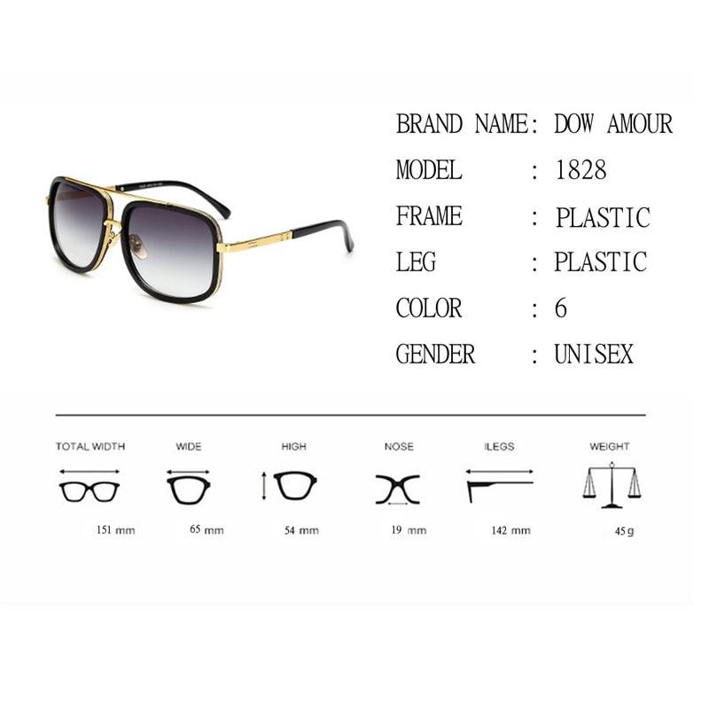 684beae361d43 2017 Brand Designer Sunglasses Men Women Retro Vintage Sun glasses Big  Frame Fashion Glasses Top Quality Eyeglasses UV400-in Sunglasses from  Apparel ...