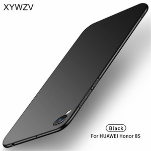 Image 1 - Huawei Honor 8S Case Silm Luxury Ultra Thin Smooth Hard PC Phone Case For Huawei Honor 8S Back Cover For Huawei Honor 8S Fundas