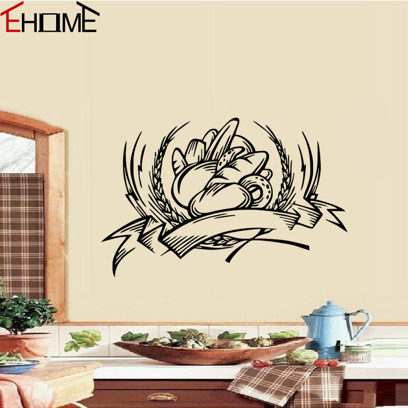 Decorative Wall Tile Stickers : Bakery decorative wall stickers kitchen tile sticker