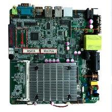 メインボード低コストintel celeron J1900プロセッサitx産業用マザーボード3 * usb機用