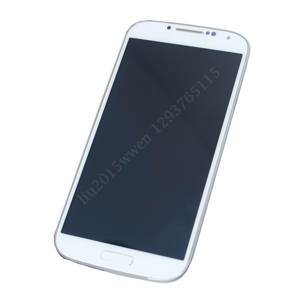 FOR Samsung Galaxy S4 i9505 LCD Touch Digitizer Screen + Frame White