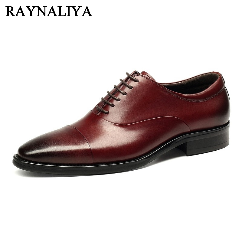 New 2018 Fashion Men Dress Shoes Luxury Brand Black Soft Leather Male Pointed Toe Business Shoes Chaussure Homme YJ-A0031 new 2018 fashion men dress shoes black leather pointed toe male business shoes lace up men falt office shoes yj b0035